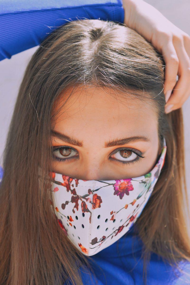 μάσκα δερμάτινη