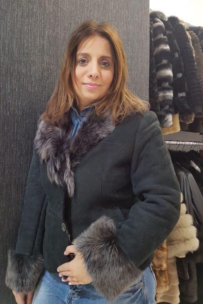 Γυναικείο μπουφάν μουτόν