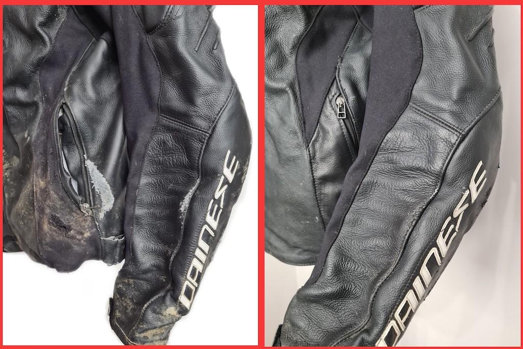 service leather jacket